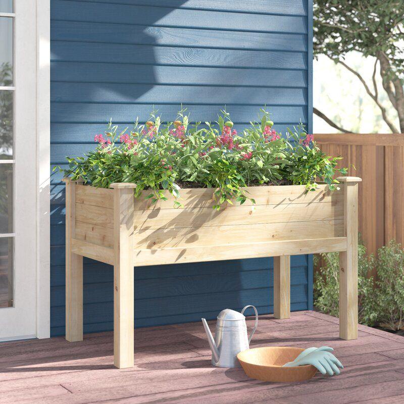 elick wood raised garden