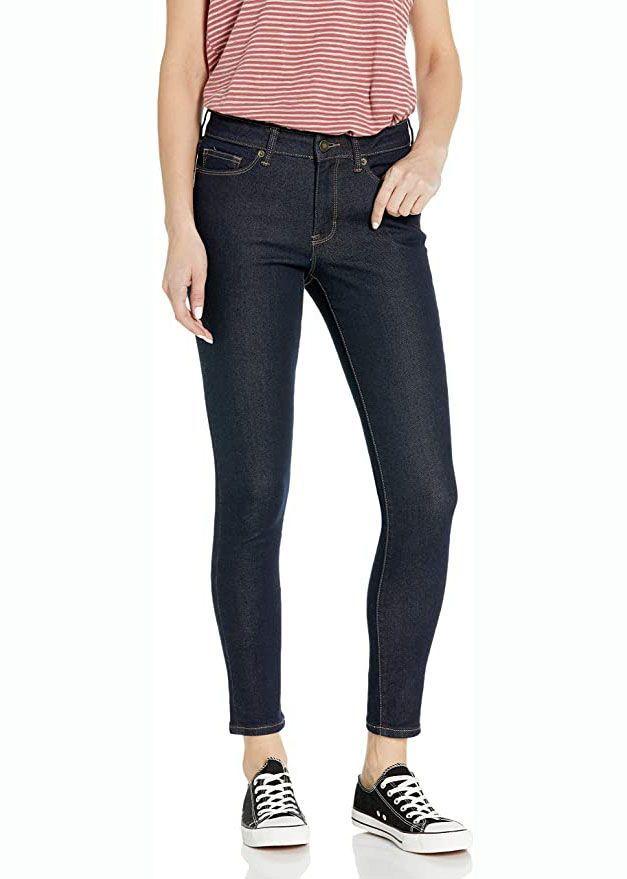 Skinny Jeans mit hohem Bund
