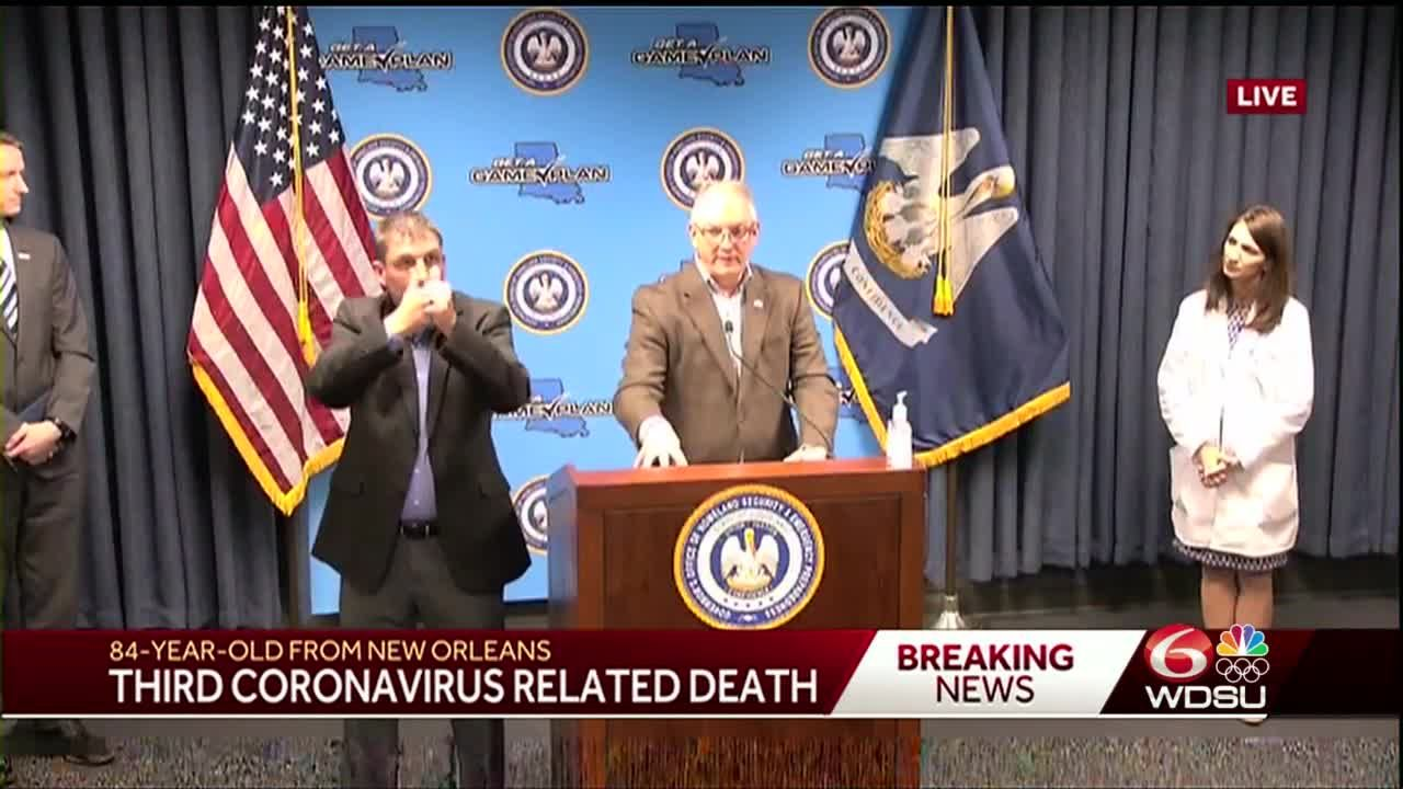CORONAVIRUS IN NEW ORLEANS: 4 deaths reported from coronavirus ...