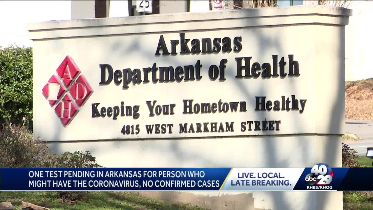 Arkansas monitoring 61 people for coronavirus