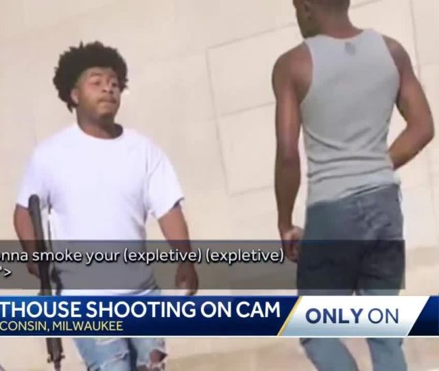 Man Shot Near Courthouse Shares Video Of Confrontation