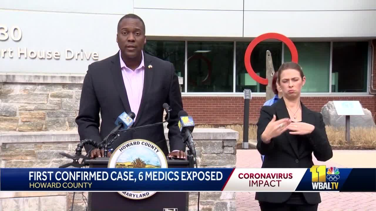 First case of COVID-19 confirmed in Howard County, six paramedics ...