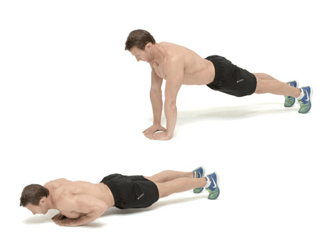 How to do the diamond press-up