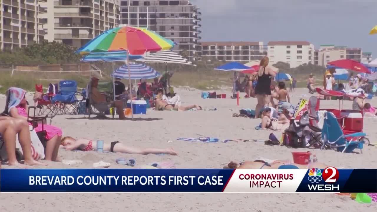 Brevard officials discuss beach, business restrictions after first ...