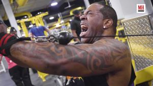 Busta Rhymes demonstrates his exercise plan for body transformation