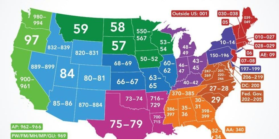 The Surprising History and Meaning Behind Every Zip Code