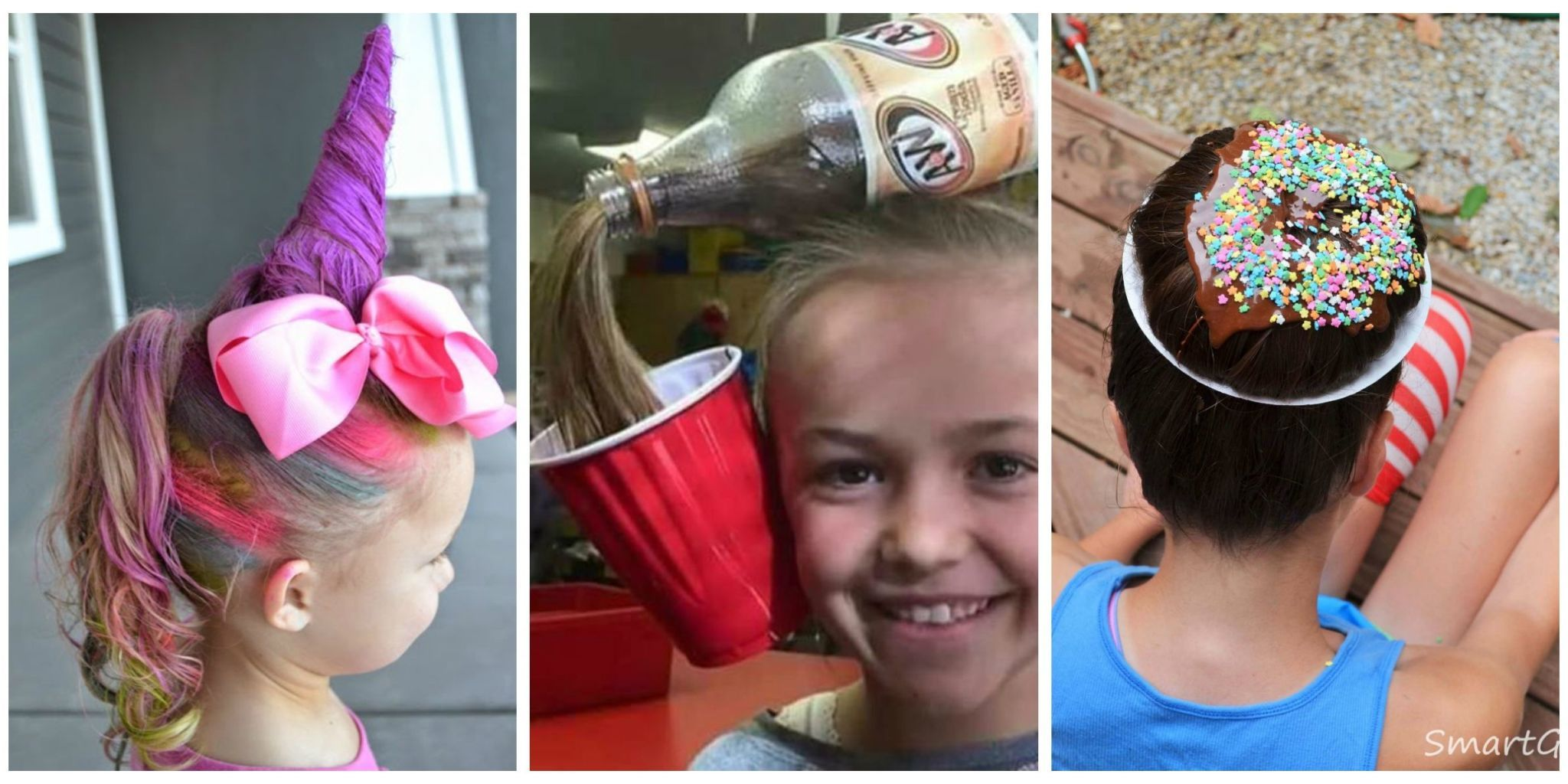 crazy hair day ideas - wacky