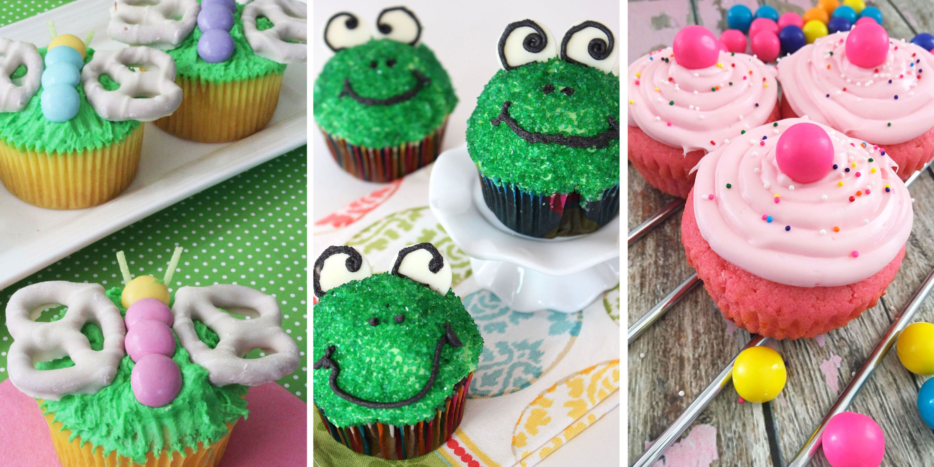 20 Easy Spring Cupcake Ideas Decorating Cute Spring Cupcakes