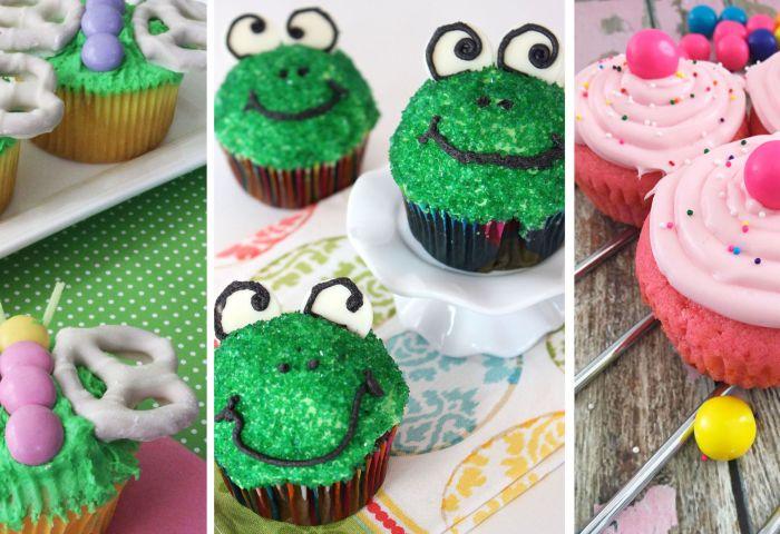 20 Easy Spring Cupcake Ideas Decorating Cute Spring Cupcakes