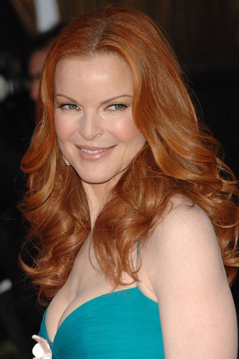 Curly Hairstyles - Marcia Cross