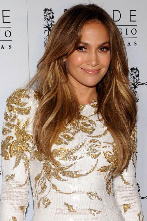 curly hairstyles -Jennifer Lopez