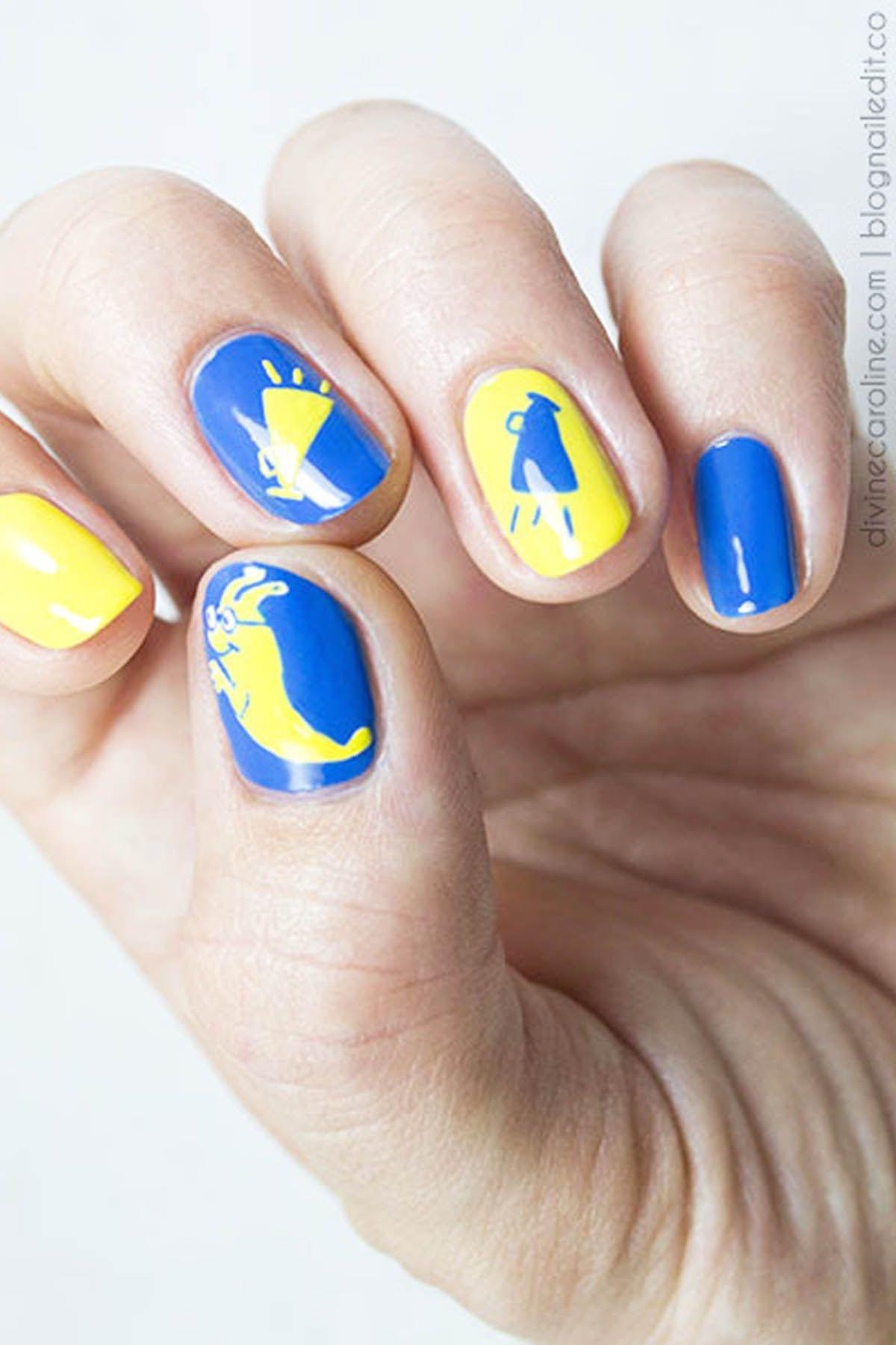 cute -school nails