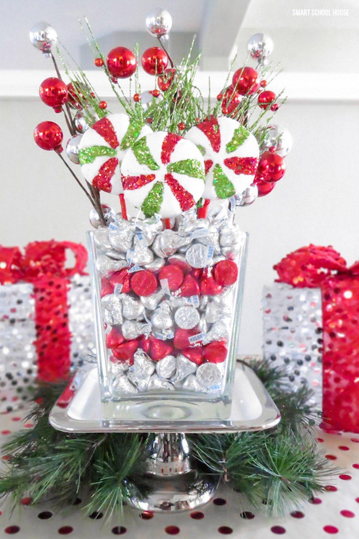 Centerpiece Christmas Table Decorations