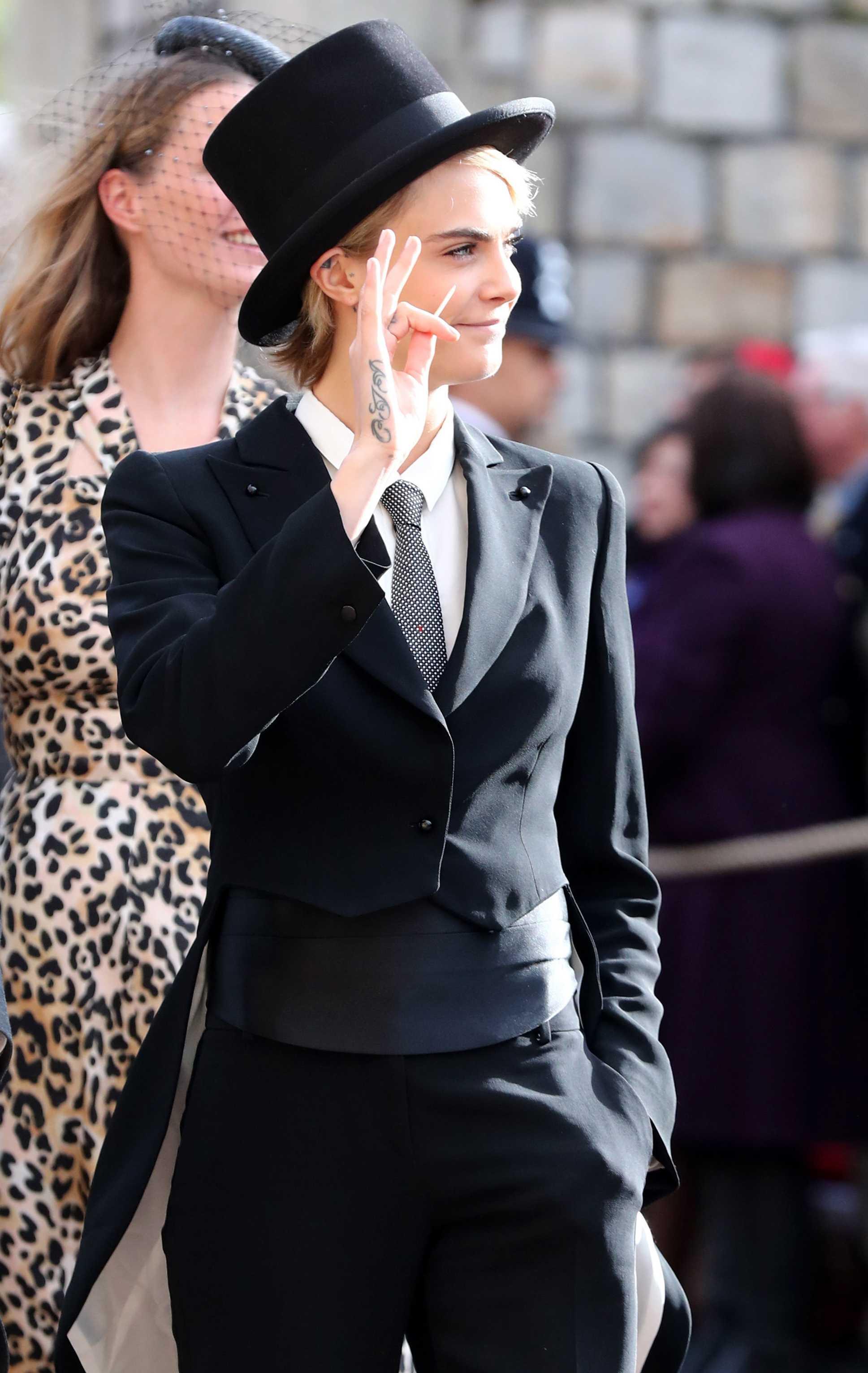 Princess Eugenie and Jack Brooksbank Wedding Cara Delevingne