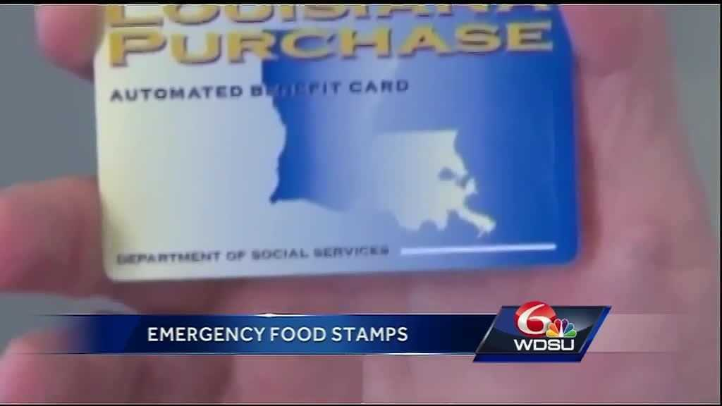 How Do I Apply Emergency Food Stamps