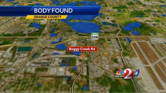 Road Map Boggy Creek Orlando
