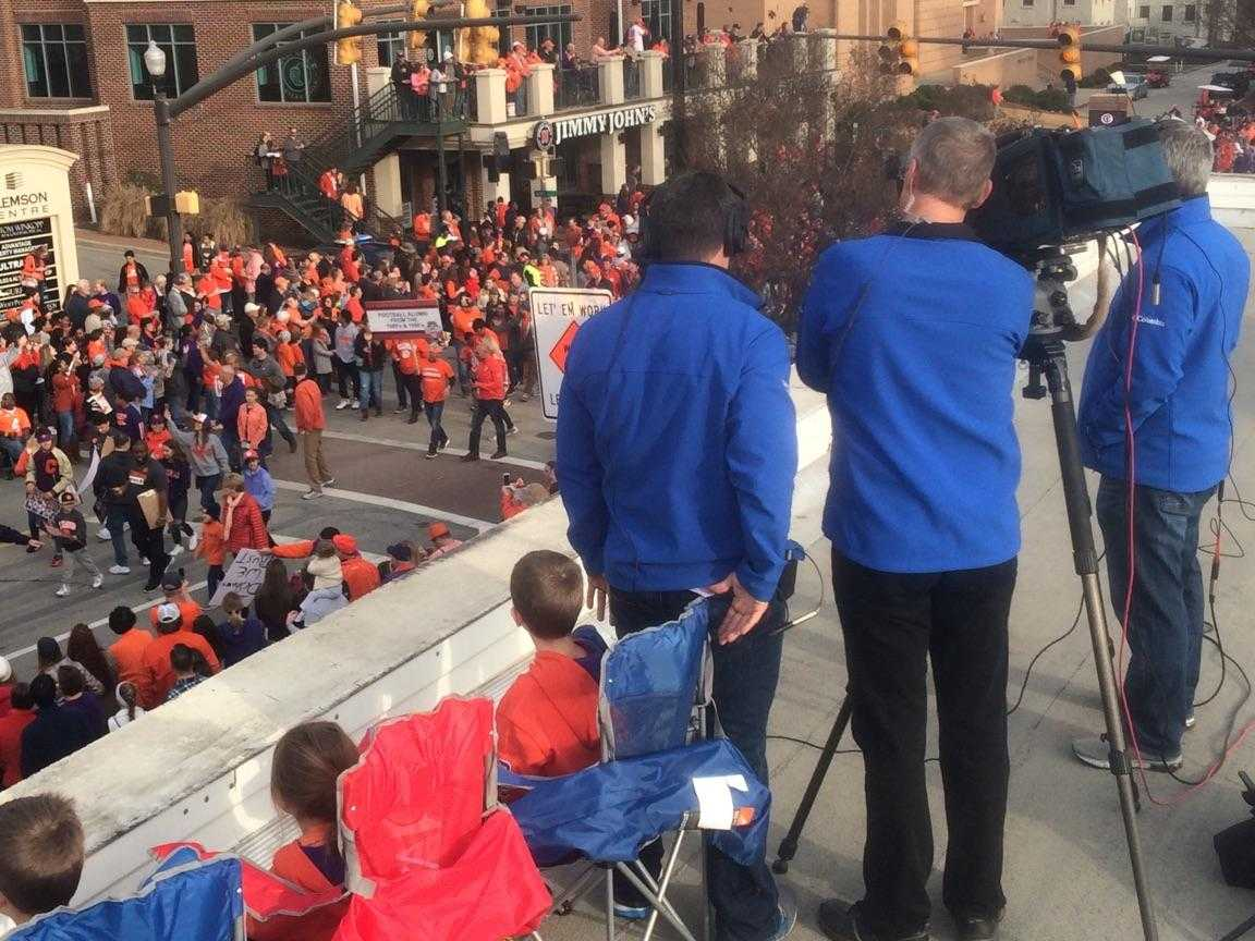 PICTURES Clemson Tigers parade and victory celebration