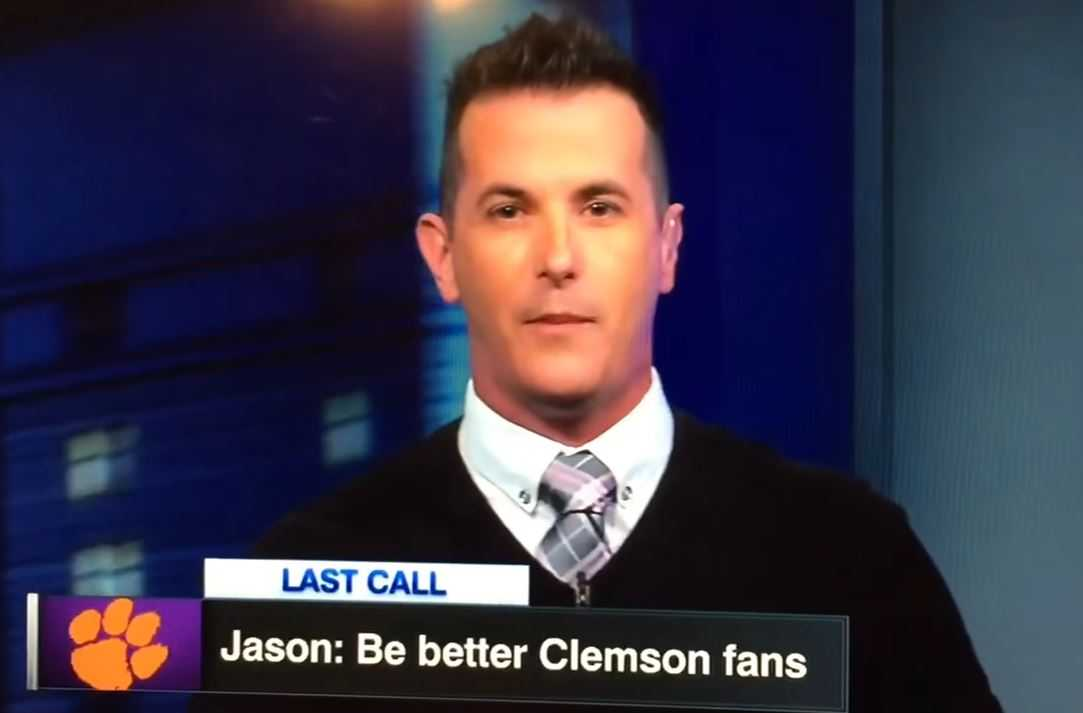 ESPN host goes on rant about Clemson fans