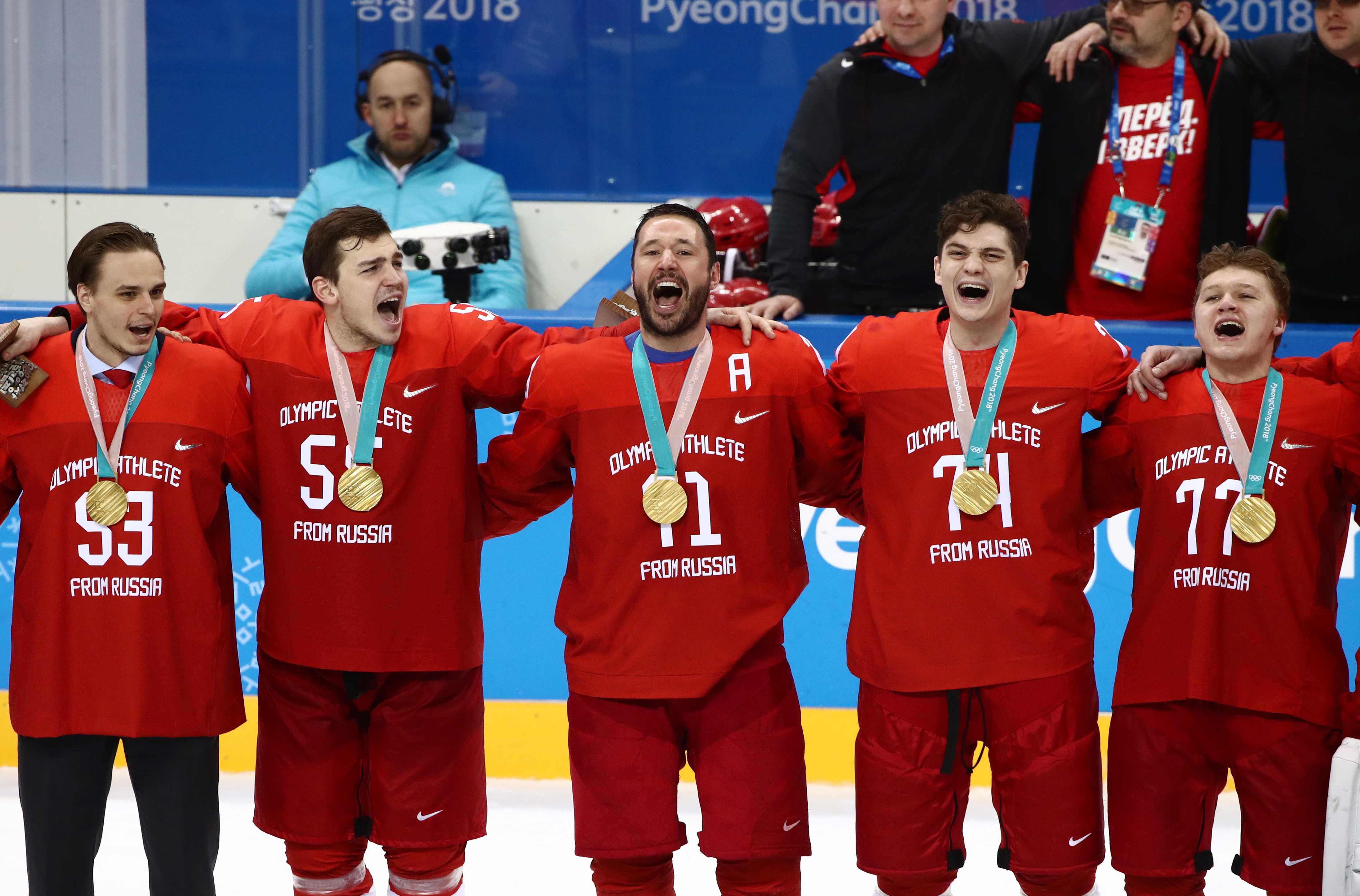 russians win men s