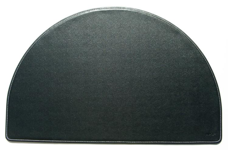 Faux Leather Desk Accessories  Desk Pad  Round  Hip