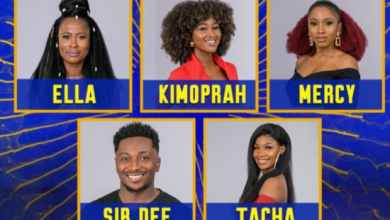 Photo of BBNaija 2019 : Tacha, Mercy, up for eviction with three other housemates