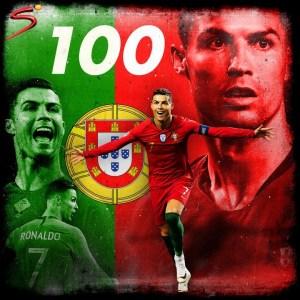 Ronaldo Scores 100th International Goal As Portugal Win Against Sweden