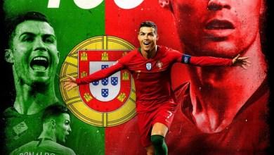 Photo of Ronaldo Scores 100th International Goal As Portugal Win Against Sweden