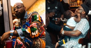 """Your Pikin Go Be Broke Boy"" – Davido Replies Troll Who Called His Son Ifeanyi ""Frog Voice"""