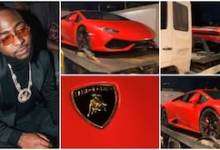 Photo of Davido Buys Brand New Lamborghini Worth N200 Million