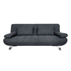 Single Size Sofa Bed Singapore How To Make Slipcovers For Without Sewing Buy Versatile Beds Online In Hipvan Clifford 3 Seater Grey Image 1