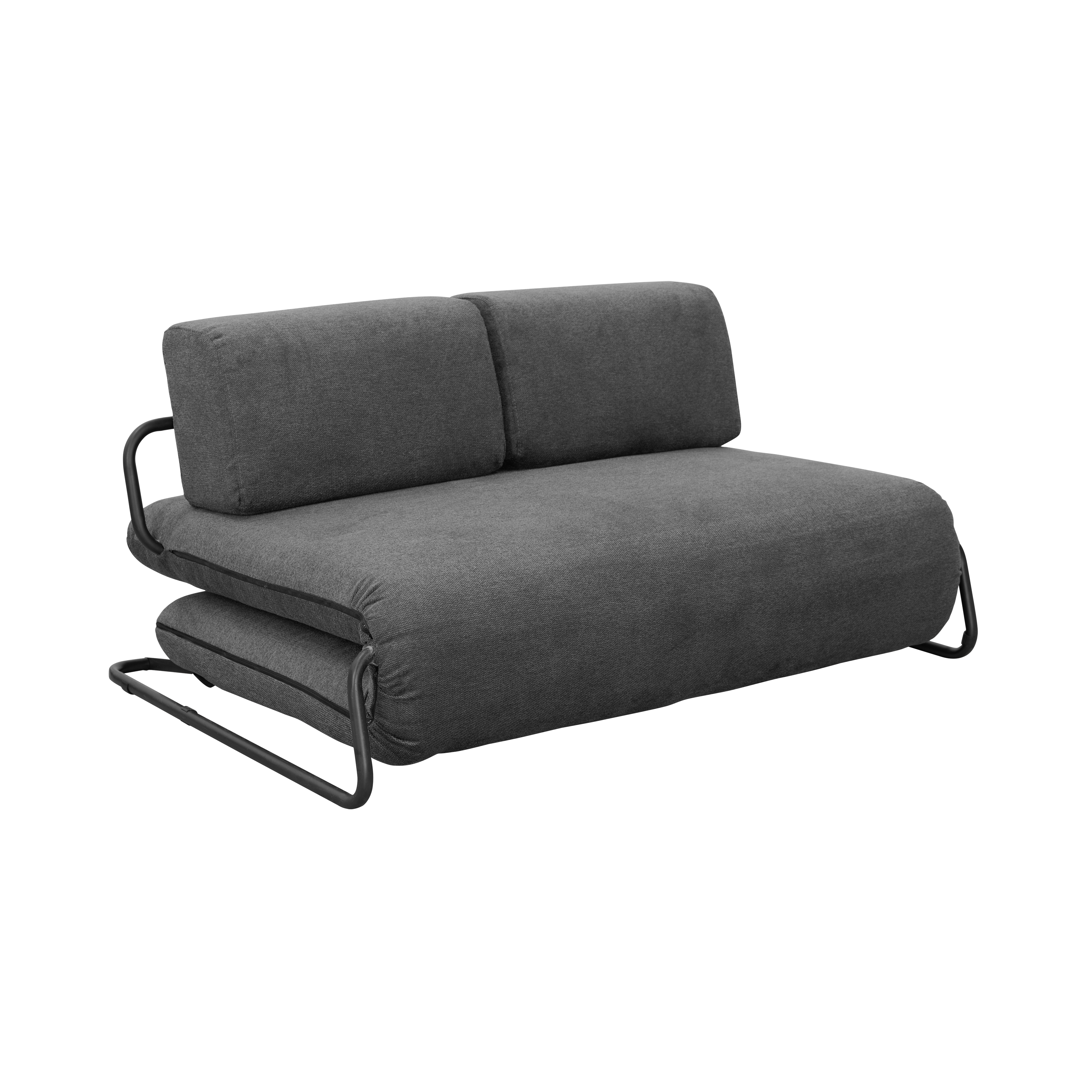 single size sofa bed singapore living room with dark green buy versatile beds online in hipvan leyton charcoal grey image 1