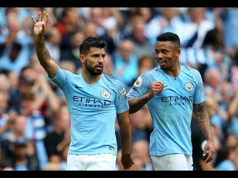 Manchester city vs Huddersfield 6-1 all football highlights