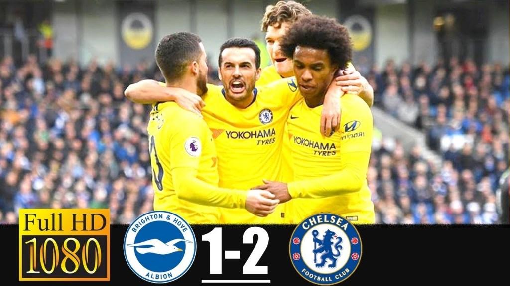 Brighton Vs Chelsea 1-2 Highlights & Goals