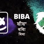 Mashmello x Pritam – BIBA feat Shirly Setia (Official Lyrical Video)