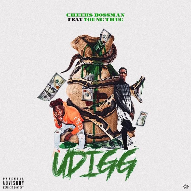 """Young Thug Links Up With Cheeks Bossman On """"UDIGG"""""""