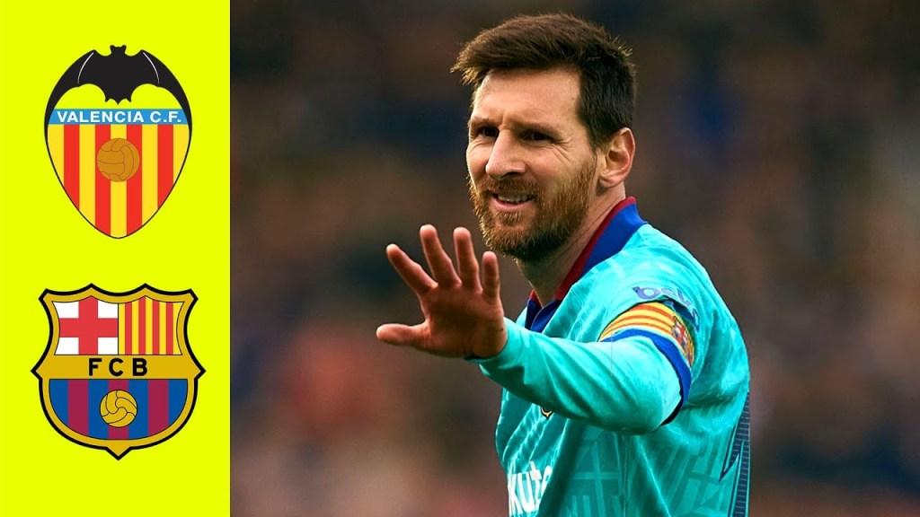 Valencia vs Barcelona 2-0 Highlights Goals