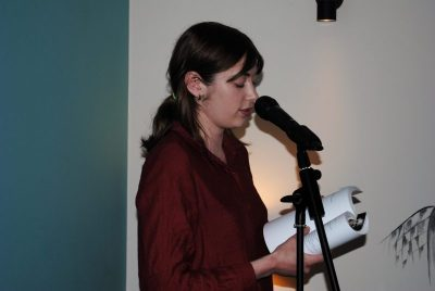 Lucia inspires us with a couple poems.
