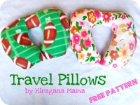 Travel Pillows for Children | Hiragana Mama