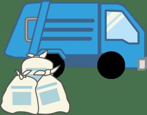 ゴミ収集車イメージ