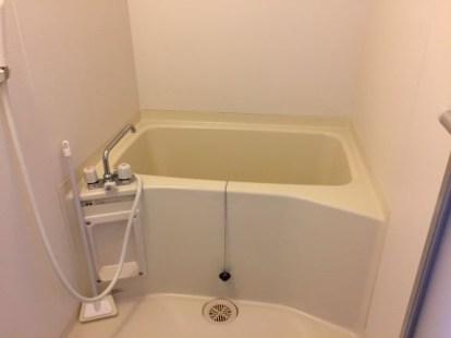 きれいになった浴室