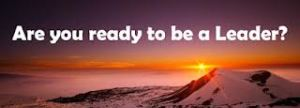 are you ready to be a leader?