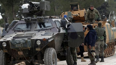 Russia Stops the Fighting Between Syrian Army, Turkish-Backed Rebels