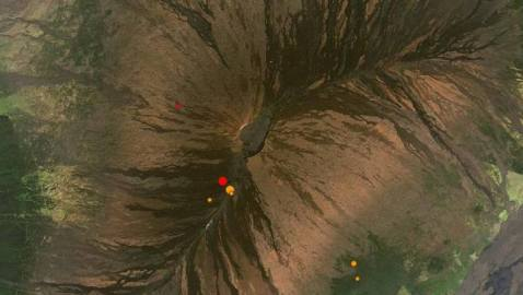 M3.7 and M3.1 Earthquakes Hit Right Below Mauna Loa Volcano, Earth Largest Volcano