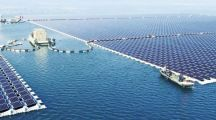 China Launches World's Largest Floating Solar Power Plant
