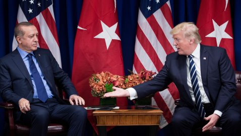 Erdogan demands NATO take stand on US-backed Syrian Border Force