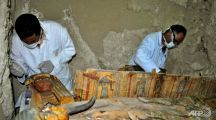 Archaeologists discover ancient tombs in Egypt's Luxor