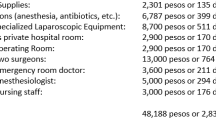 WOW-$2,830 Appendectomy in Mexico I read on-line that the average cost for an appendectomy in the U.S. is $33,000.