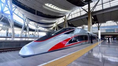 Bullets and bombs on China's high-speed rail network China's newest generation of high-speed passenger trains will also provide launch platforms for missiles