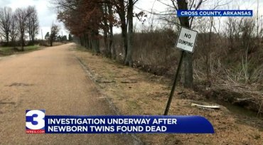Bodies of newborn twins found in a suitcase in an Ark. ditch