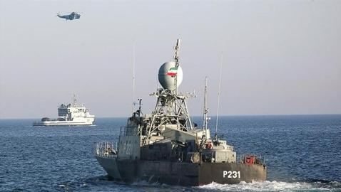 Prepping for the coming 'MENA' war…Iran destroyer fitted with 'close-in weapon system'